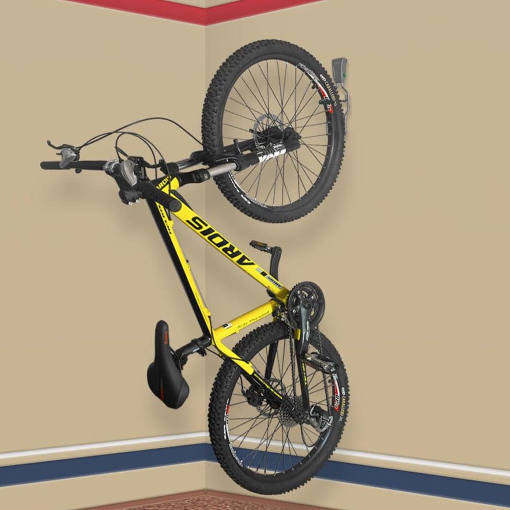 Вертикальное крепление для велосипеда на стену