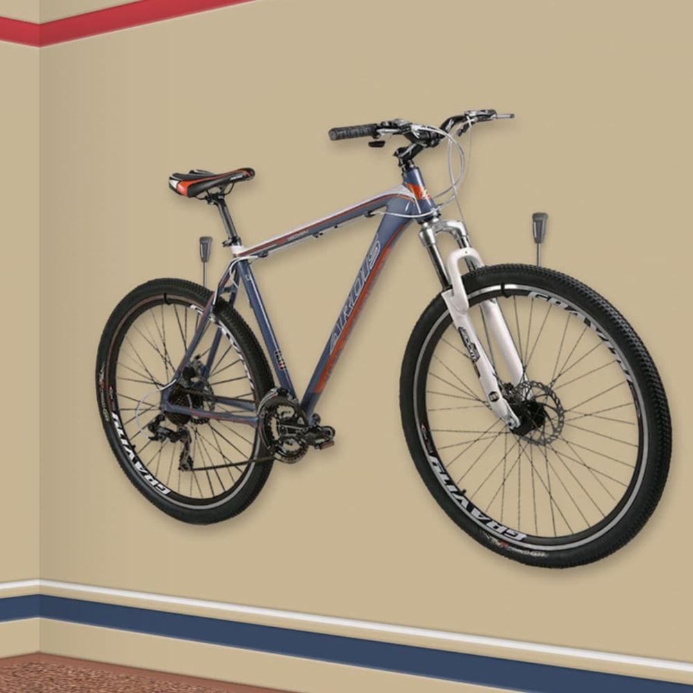 Горизонтальні тримачі для зберігання велосипеда