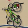 Кріплення для двох велосипедів на стіну