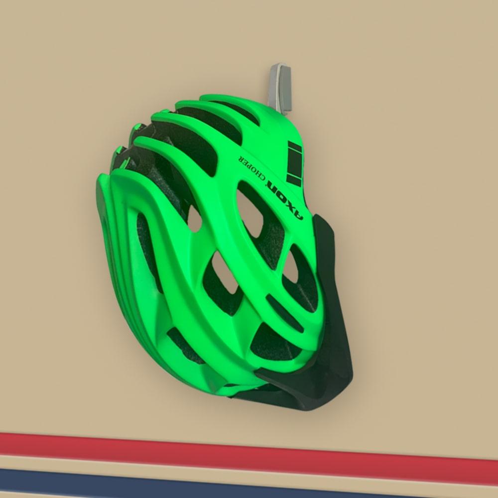 Кріплення для велошолома