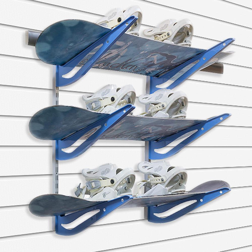 Набір кріплень для зберігання 3-х сноубордів