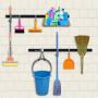 Набір для зберігання прибирального інвентарю