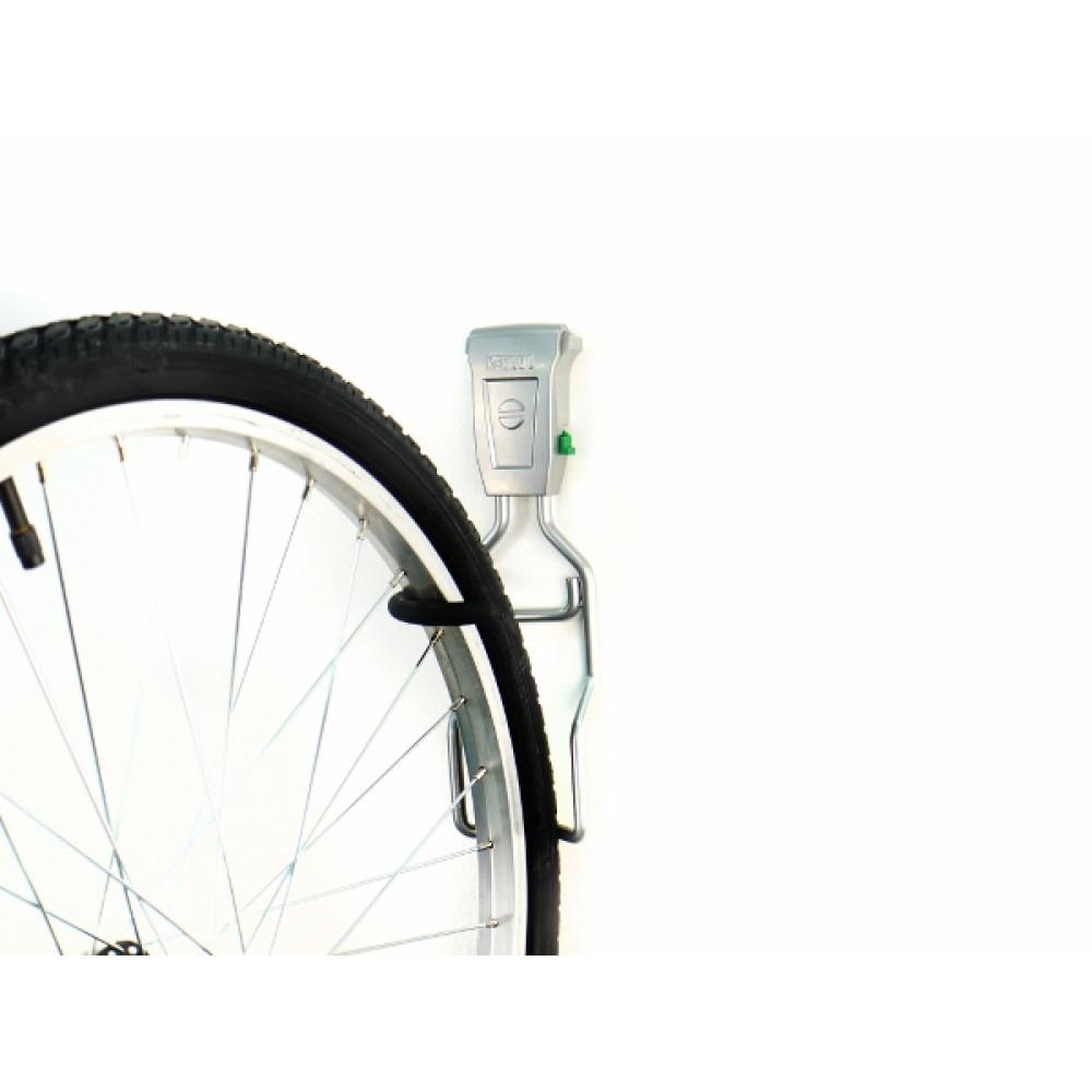 Тримач для вертикального зберігання велосипеда