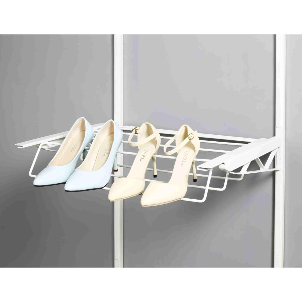 Дротяна полиця для зберігання взуття висувна