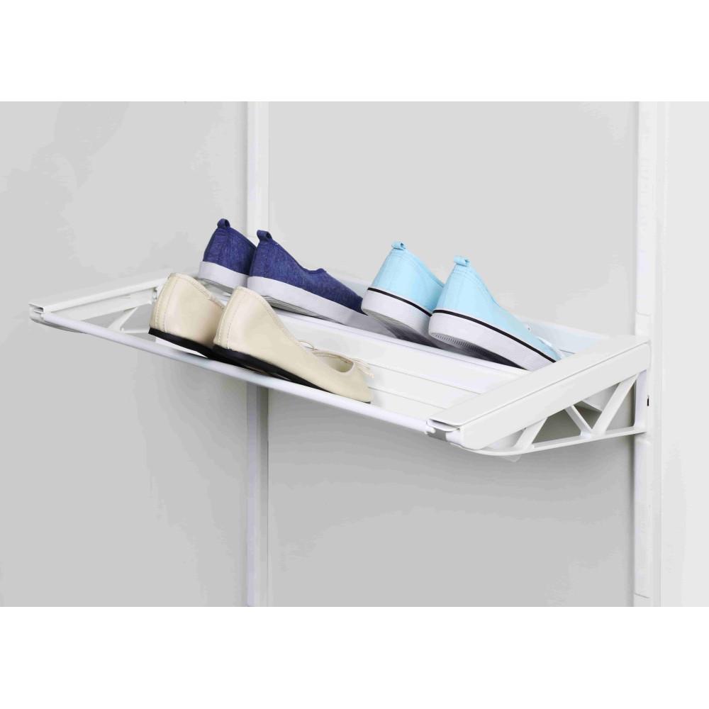 Висувна металева полиця для взуття