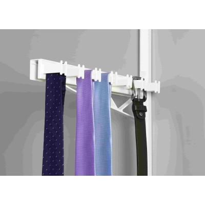 Висувна вішалка для краваток і ременів