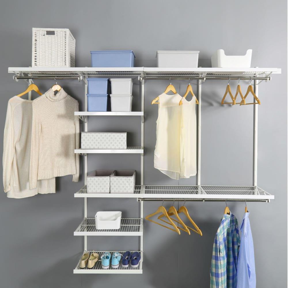 Стальна гардеробна система