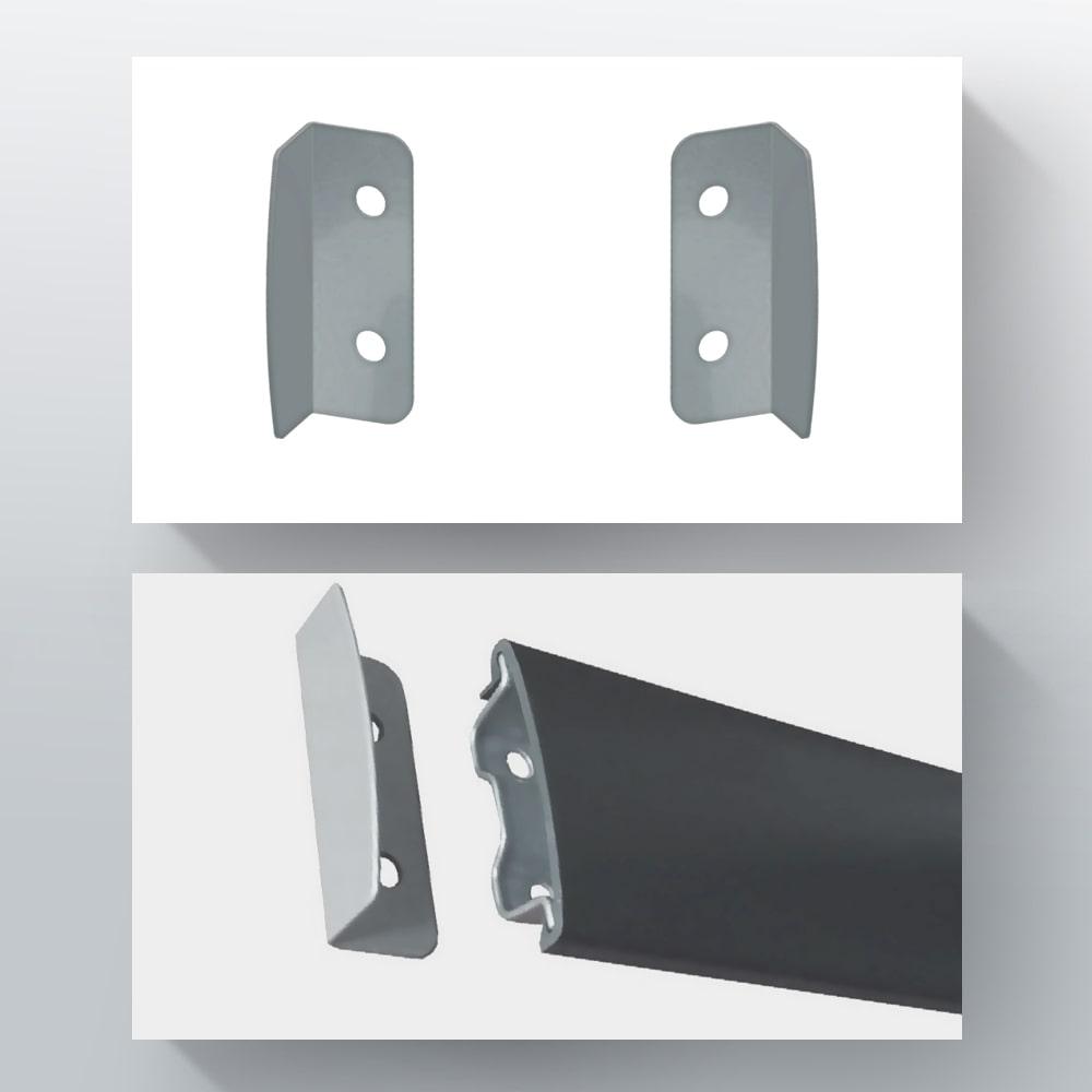 Декоративні кутки для монтажної планки
